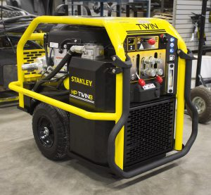 Stanley Twin Hydraulic Portable Power Plant Twin