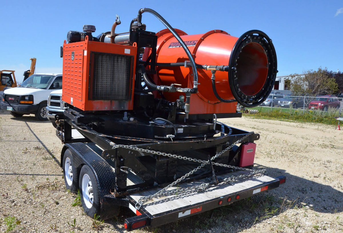 The Dust Destroyer For Ultimate Dust Suppression