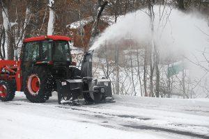 rear pull tractor snowblower erskine