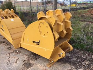 roller-bucket felco excavator attachment