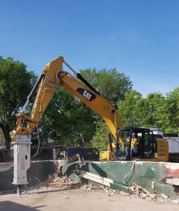 BIG tough hydraulic breakers for excavator